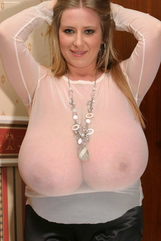Big tits sheer blouse porn - Best abbi secraa images on pinterest boobs  lust and curves