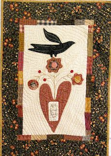 """Quilt made from Cheri Payne's """"Sew Good"""" pattern (from Log Cabin Quilter)"""