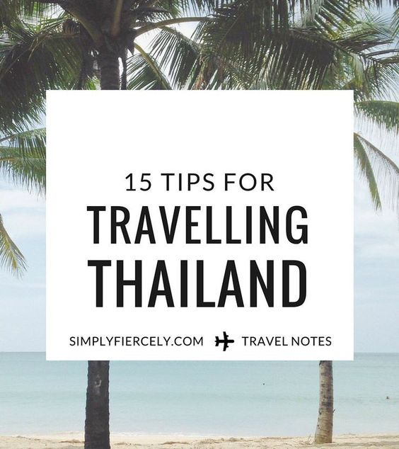 How to save money, stay cool, and NOT lose your lunch - tips for travelling Thailand.