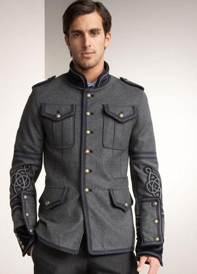 Military Style Jacket Mens Photo Album - Reikian
