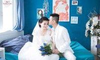 Album ảnh Hình cưới đẹp tại cafe Gabi ngoại cảnh Sài Gòn