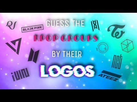 Guess The Kpop Groups By Their Logos Kpop Game Youtube Kpop Groups Kpop Guess The Logo