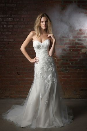 Henry Roth - Sweetheart A-Line Gown in Tulle