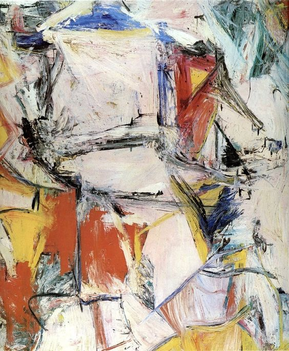 """Interchanged"" by Willem de Kooning, 1955"