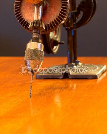 American Made Woodworker Hand Drill — Stock Image #63115421