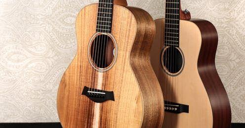 Taylor Gs Mini Vs Martin Lx1 Andertons Blog Guitar Acoustic Acoustic Guitar