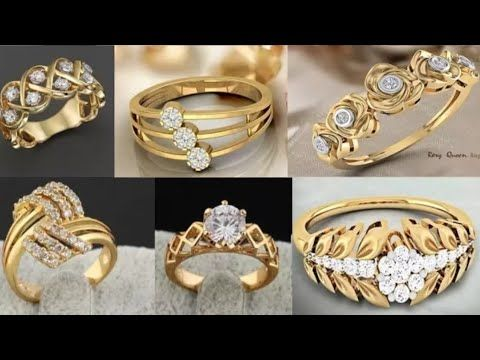2019 Gold Wedding Bands 1 In 2020 Gold Ring Designs Latest Gold