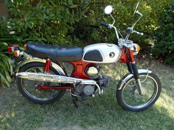 1970 Honda CL90 Scrambler. Sick, would love to make this 'lectric    image 1