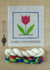 Children's needlepoint kit