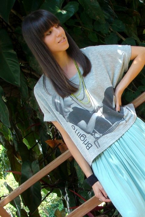 look-informal-con-camiseta-Forever21