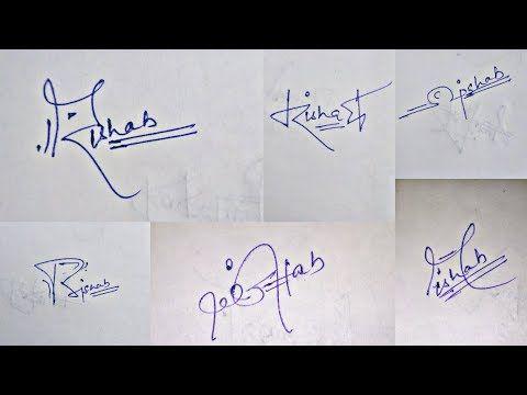 Cool Signature Dude Signature For Alphabet R Youtube Cool Signatures H Alphabet Alphabet