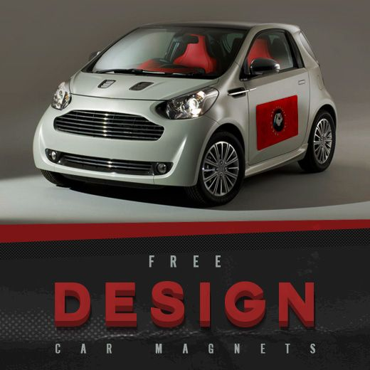 Customize A Mobile Advertisement With An X Inch Custom Car - Custom car magnets business