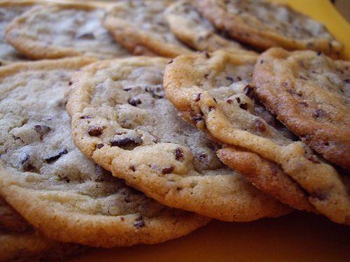 Cacao Nib Drop Cookies