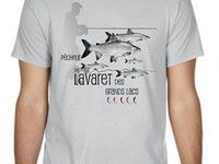 Dessins et illustrations sur la pêche - le tee-shirt du pêcheur