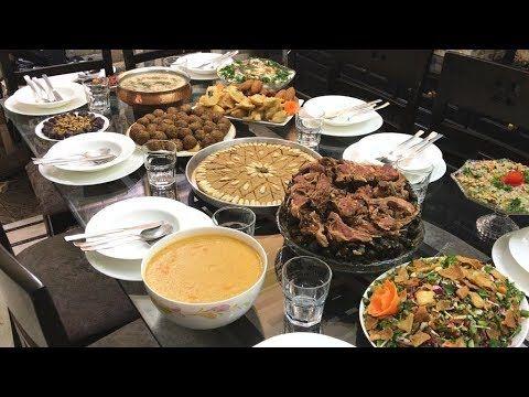 عزومة رمضان وأصناف سورية مشكلة خذوا فكرة متل ماطلبتوا Youtube Food Afternoon Tea Catering