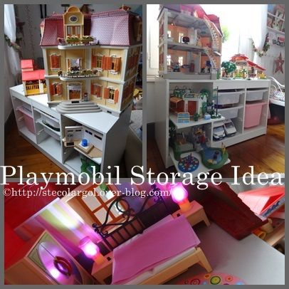 Support pour maison playmobil tuto diy que cache ma for Meuble playmobil