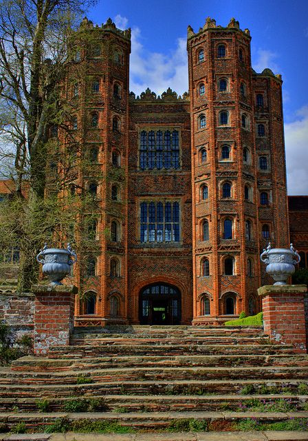 My great great uncle was a gamekeeper here at Layer Marney Towers Colchester