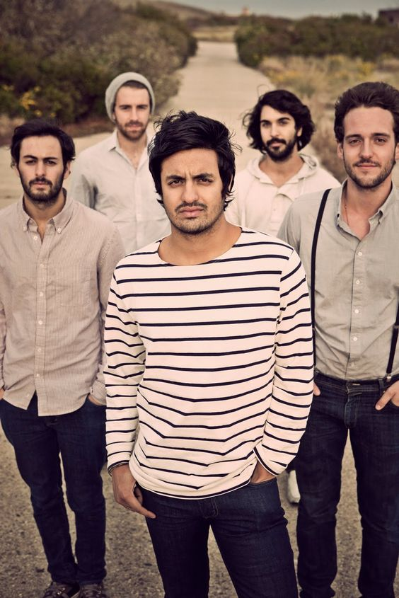 Young the Giant. I'm seriously obsessed with this band. I cannot wait until their new album comes out!! :D