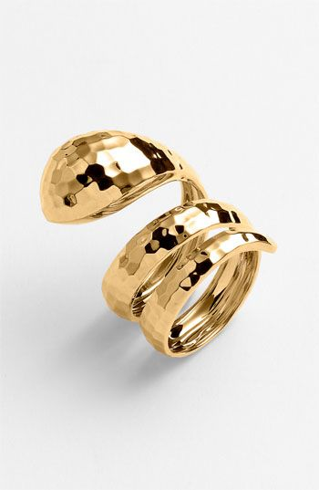 Roberto Coin 'Martellato' Snake Ring | Nordstrom - the only year of the snake jewelry i would actually wear