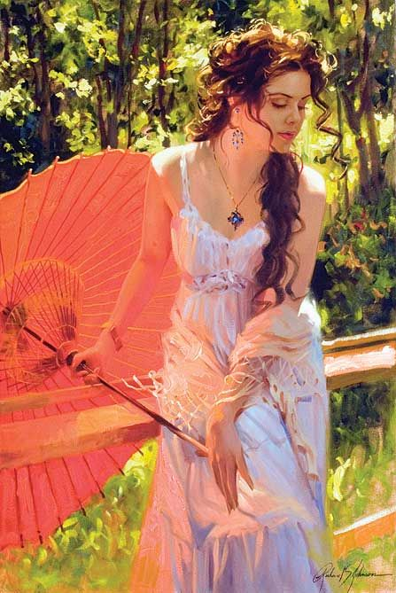 """Embers Glow"" Richard S. Johnson"