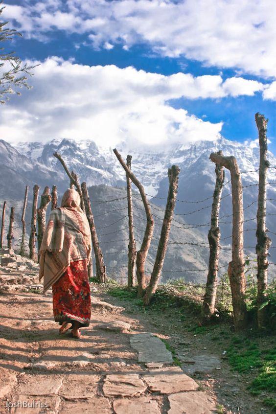 Vanaf Pokhara vertrekken velen trekkingen richting de Himalaya. http://www.333travel.nl/rondreis/india/nepal-highlights/informatie?productcode=R757: