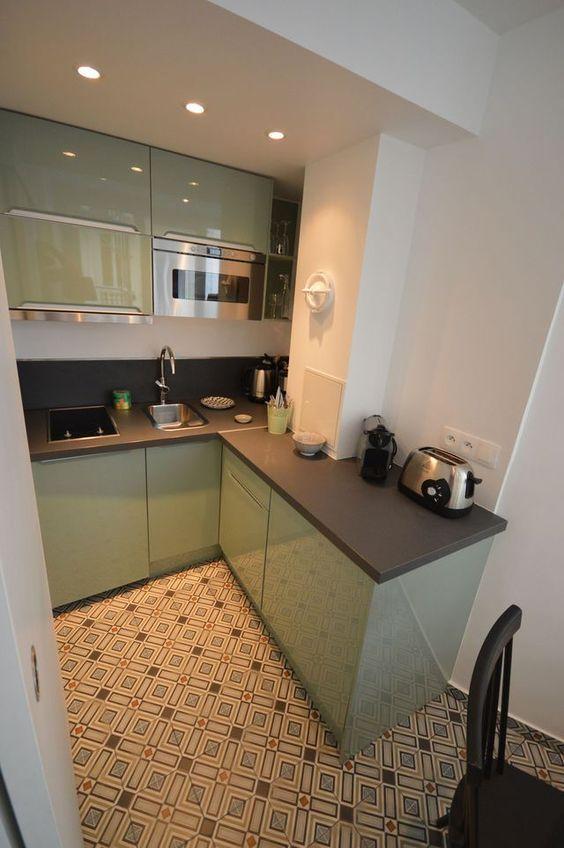 Arredare una cucina piccola | Cucine piccole, Monolocale ...