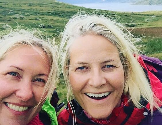 Crown Princess Mette-Marit of Norway published two new photos on her Instagram account. ( @crownprincessmm ) 02 August 2016.