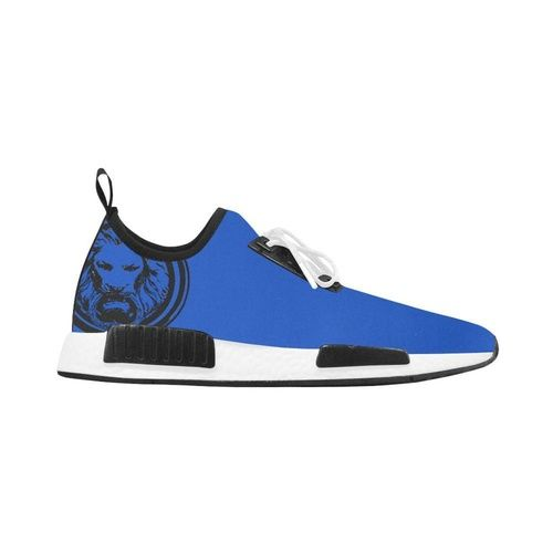 Blue Lion Running Style Trainer Shoes Sneakers Blue Running Fashion Shoes Trainers
