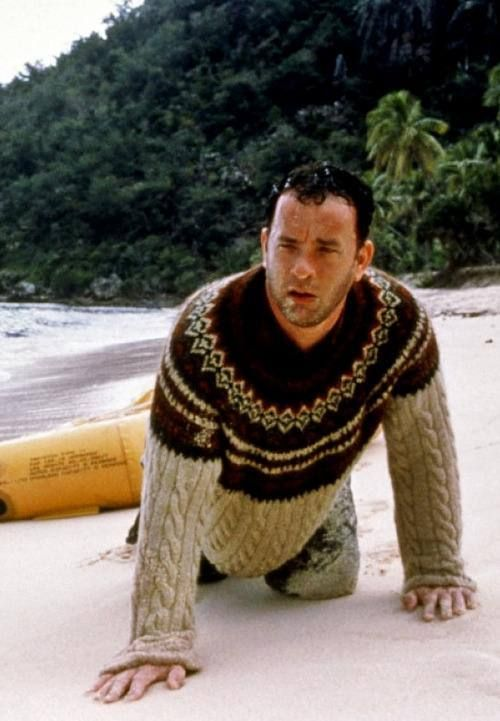 Cast Away. Tom Hanks: