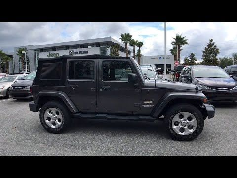 2014 Jeep Wrangler Unlimited Orlando Deltona Sanford Oviedo Winter