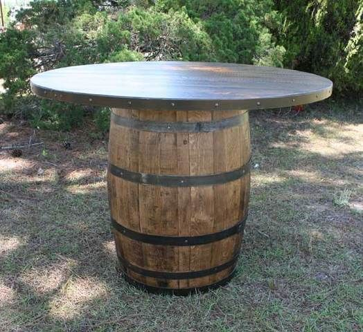 table idea for the deck with bar stools