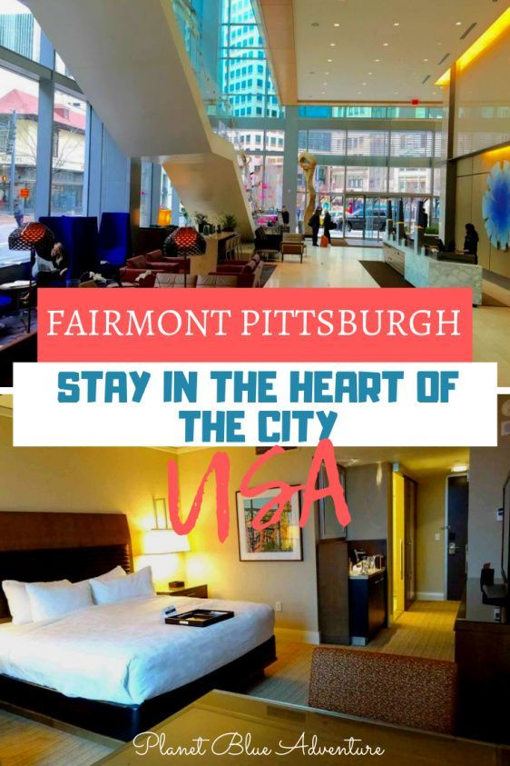 Review Fairmont Pittsburgh A Gem In The Heart Of The City Pittsburgh Hotels Fairmont Pittsburgh