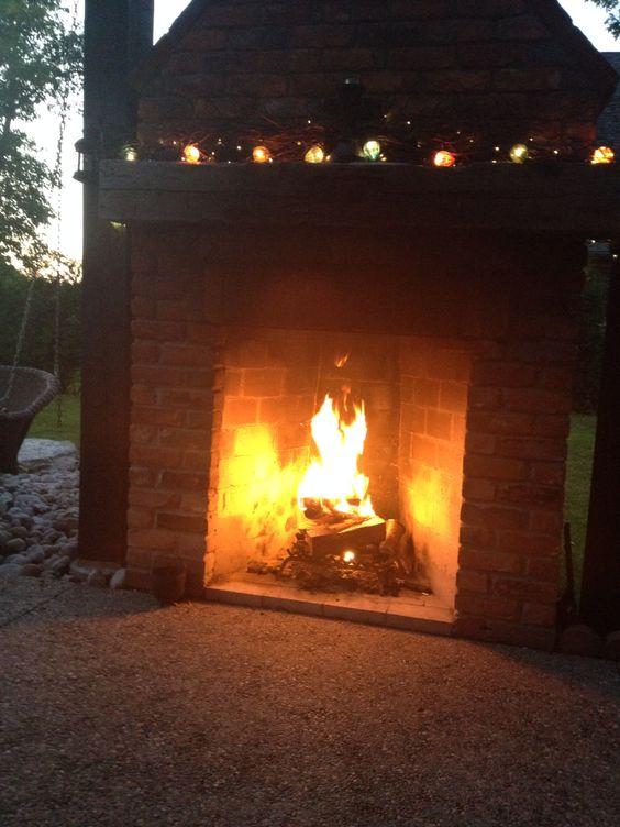Love my fireplace
