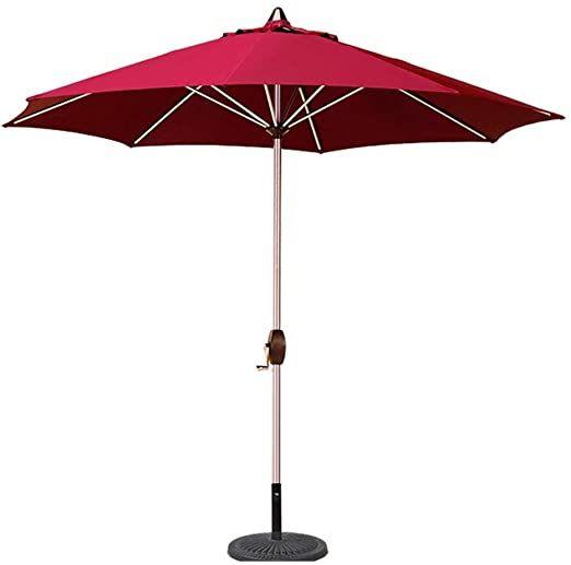 portable patio garden table umbrella