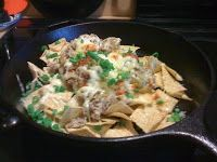 Derek on Cast Iron - Cast Iron Recipes: Recipe: Nachos