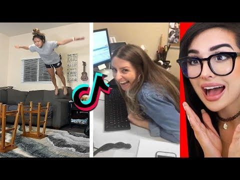 Reacting To Tik Toks That Are Actually Funny 5 Youtube Sssniperwolf Movie Soundtracks Funny Gif