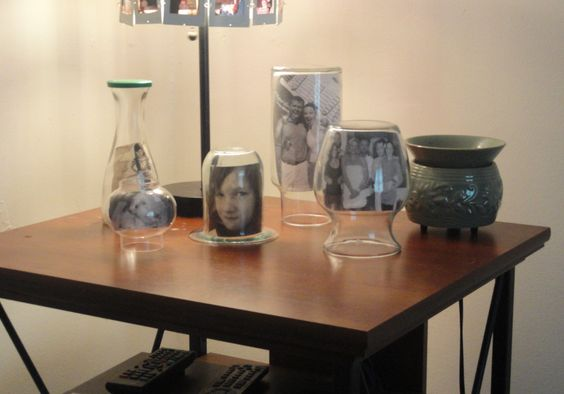Found more jars/bottles & finished my picture frames <3
