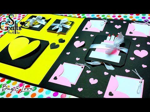 Birthday Card Handmade Gift Ideas Customisable Gift Card Anniversary Card Ideas S Crafts Handmade Birthday Cards Handmade Gifts Anniversary Cards
