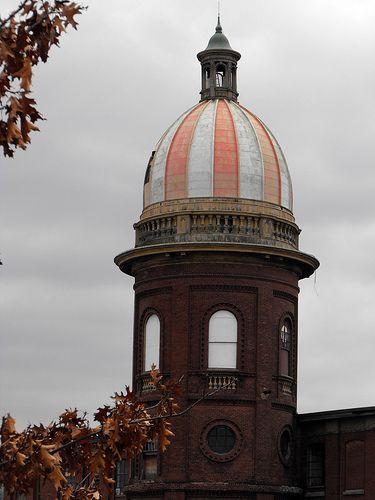 Atlantic Mills tower by I {heart} Rhody, via Flickr