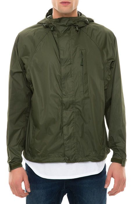 Rothco Jacket Packable Rain Olive Drab Green | Shameless