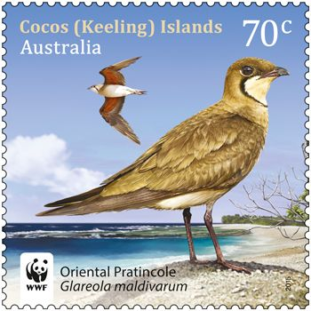 Visiting birds to the Cocos (Keeling) Islands feature in a new Australia Post stamp issue. Buy in-store or online: http://auspo.st/1acyB7V