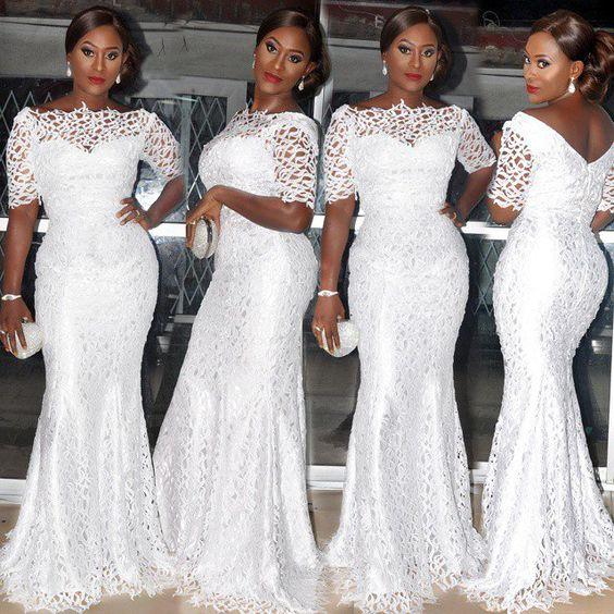 White Aso Ebi fashionpheeva: