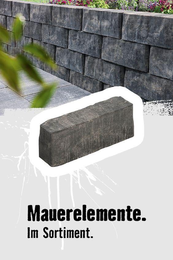 Pflastersteine Und Mauerelemente Von Hornbach Natursteine Garten Pflastersteine Landschaftsbau