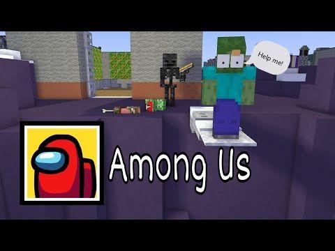 Monster School Among Us Challenge Part 3 Minecraft Animation Youtube Monster School Animation Challenges