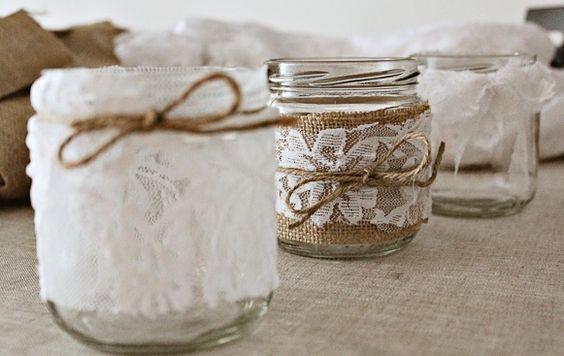 7 diy para decorar tu casa con botellas de vidrio for Como decorar botes de cristal para la cocina