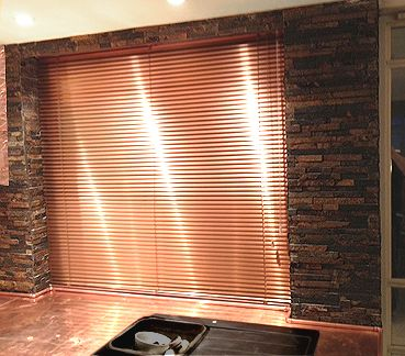 Copper Window Blind Kitchen Make over Pinterest