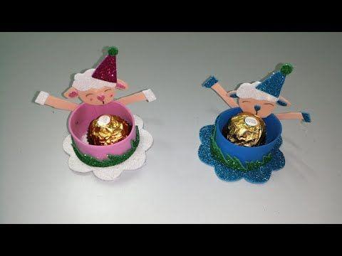أفكار جديدة لزينة عيد الأضحى ٢٠٢٠ توزيعات العيد من ورق الفوم Youtube Christmas Ornaments Holiday Decor Novelty Christmas