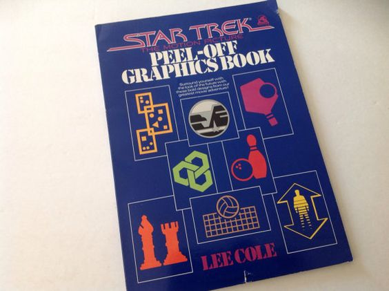 Star Trek The Motion Picture 1979 - Peel Off Graphics Book collectible gift on Etsy, $12.00