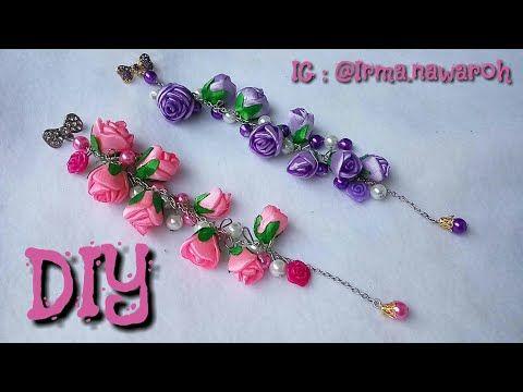 Diy Tutorial Bross Dagu Juntai Bunga Gardenia Bros Cantik