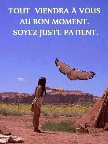 Citations option bonheur: Citation sur la patience